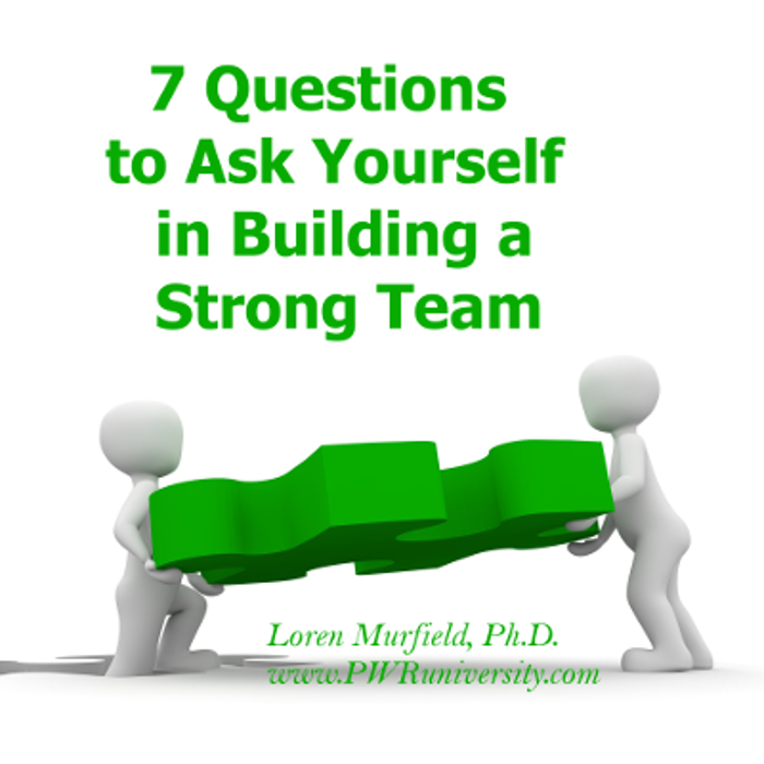 7 questions strong team