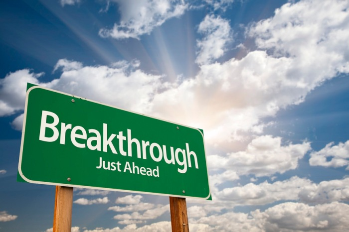 breakthrough sign
