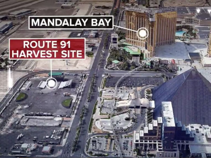 vegas-shooting map