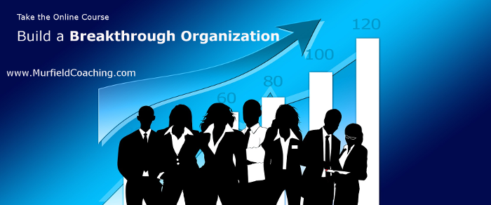 Build a Breakthrough Organization Scaled